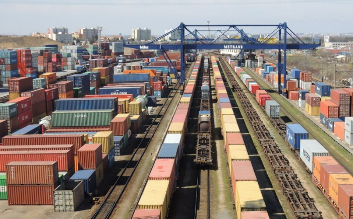Initial Container Shipment Sent by Rail from Chornomorsk to Slawkow in Poland
