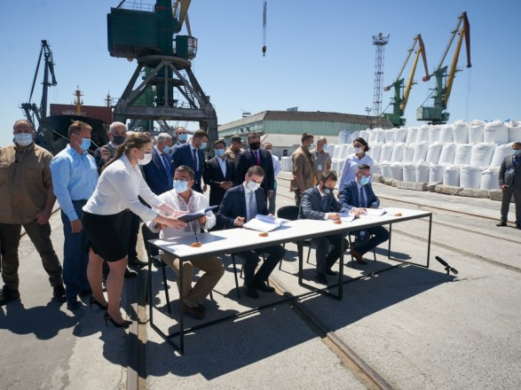Risoil Hoping to Start Kherson Port Concession by Early Spring
