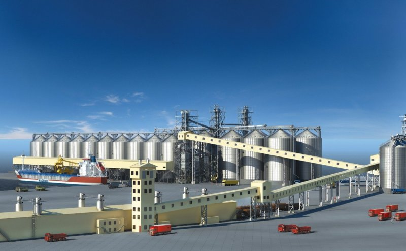 Mariupol Grain Terminal Construction Coming to Final Phase