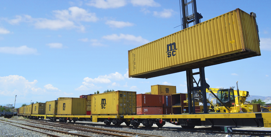 MSC Opening 3 Weekly Railway Routes in Ukraine from Odessa Port