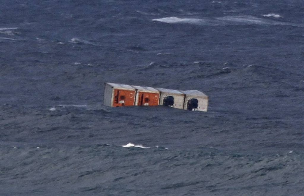 What happens to containers lost overboard? How long do they float?