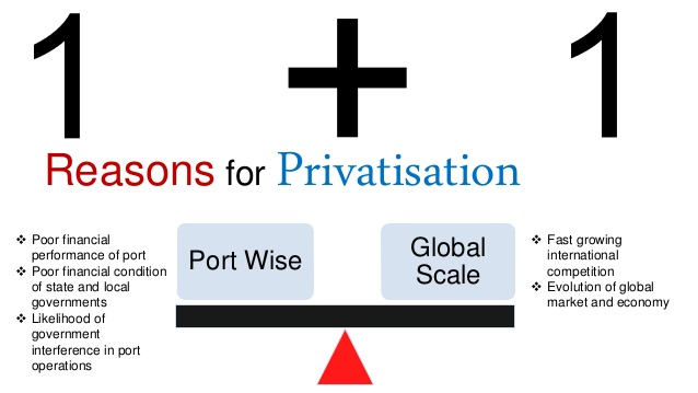 State Property Fund Announcing Port Assets Privatisation Auctions